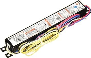 GE UltraMax Proline Electronic Ballast, 120/277 Volt Instant Start Ballast, Normal Ballast Factor, Ballast for Fluorescent Light (4) or (3) Lamp T8