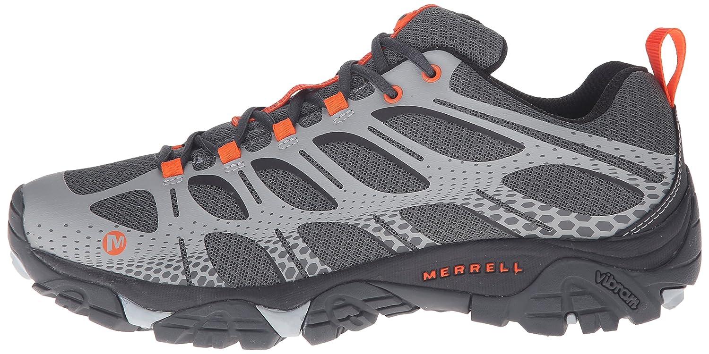 Merrell Herren Trekking-& Moab Edge Trekking-& Herren Wanderhalbschuhe, blau 004f22