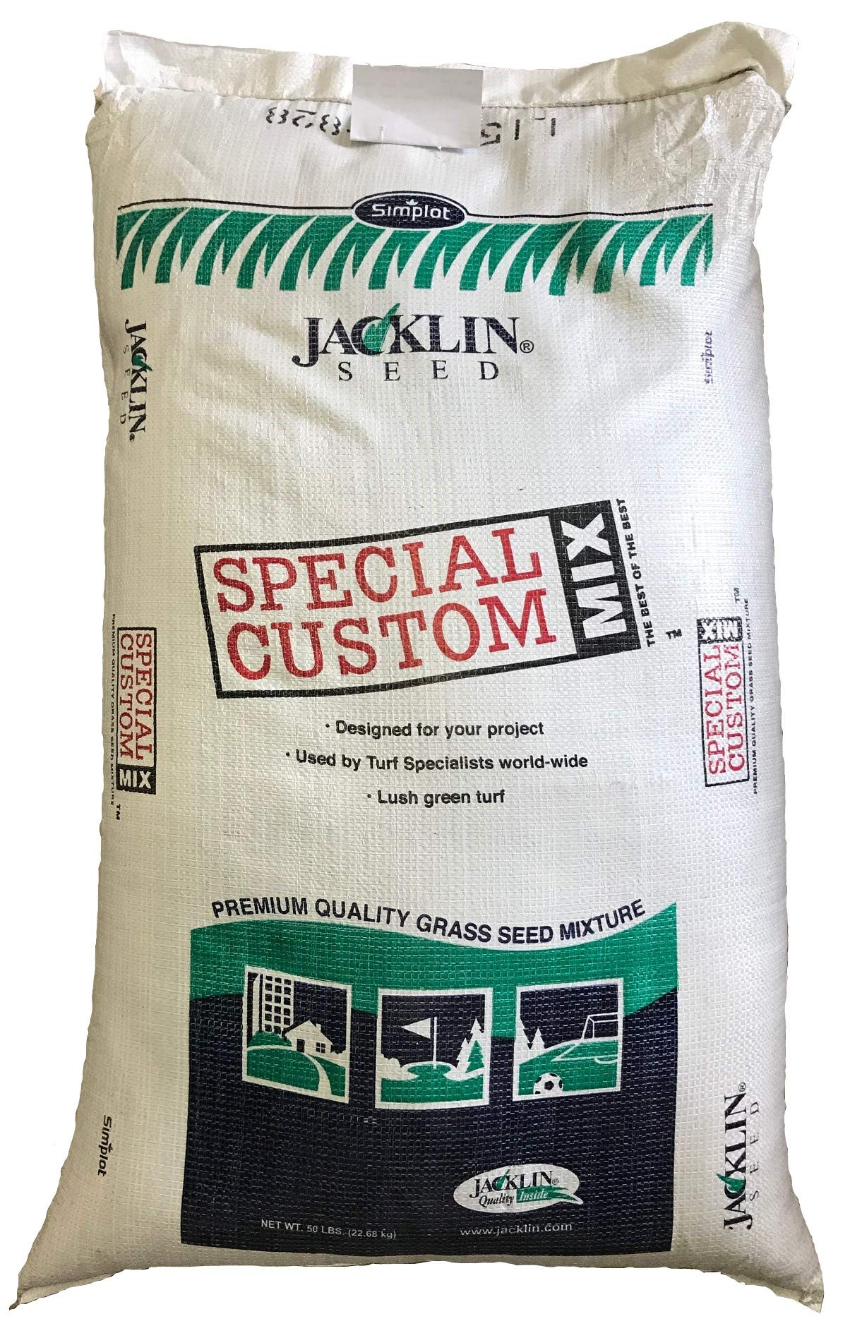 Jacklin Seed - Heisman Mix | 85% Kentucky Bluegrass, 15% Perennial Ryegrass | Certified Grass Seed (5-50 lbs) (50 lbs (20,000 sq ft))