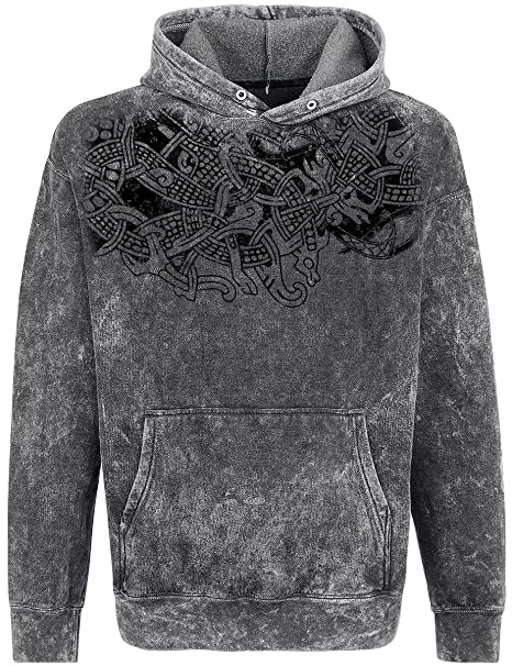 Thunderstorm Sudadera con capucha Gris Outer Vision Wt6ux5XP