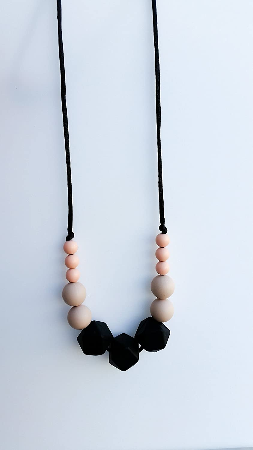 Modern Silicone Teething and Nursing Necklace