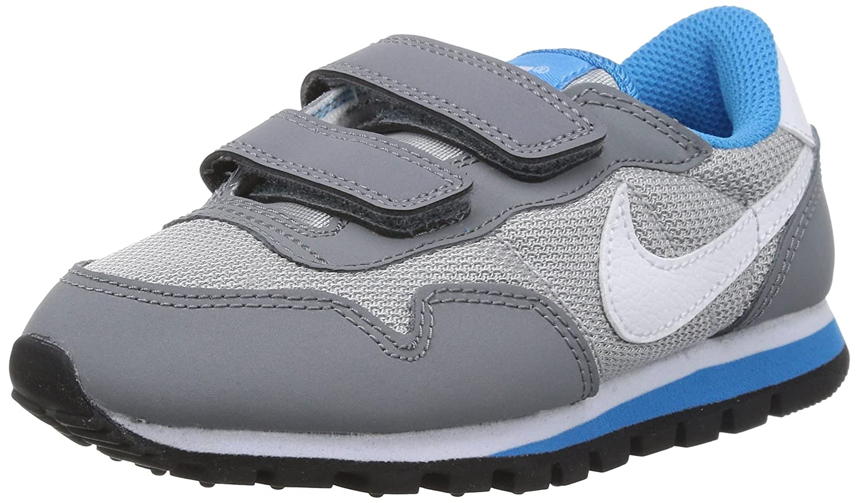 Amazon.com | Nike Boys' Metro Plus (PSV) Sneakers-Wolf Grey/White-3 |  Sneakers