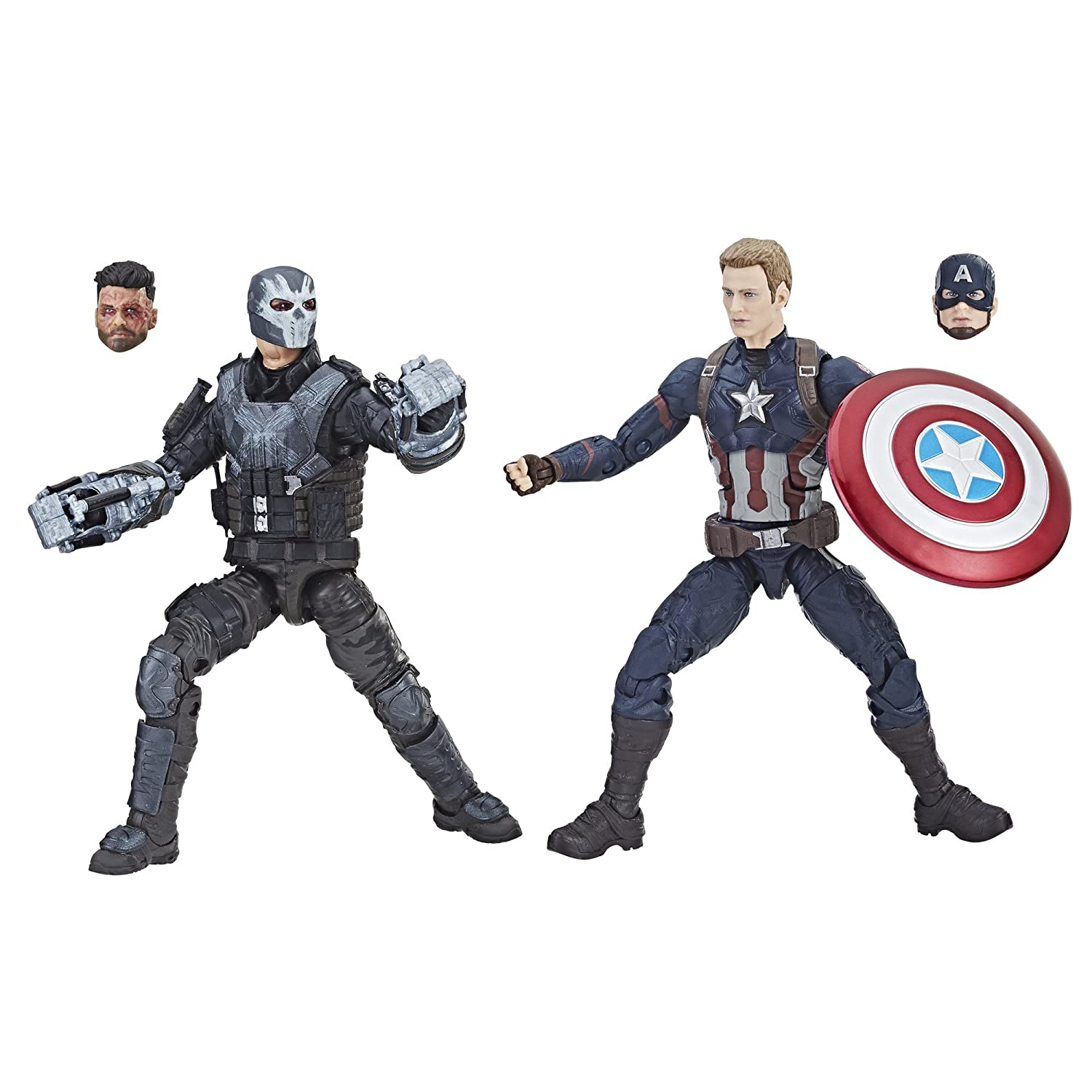 Marvel Studios: The First Ten Years Captain America: Civil War Captain America and Crossbones Hasbro E2447