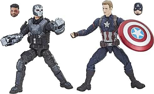 Hasbro Marvel Studios: The First Ten Years Captain America: Civil War Captain America and Crossbones: Amazon.es: Juguetes y juegos