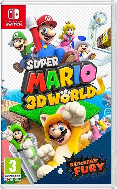 Super Mario 3D World + Bowsers Fury: Amazon.es: Videojuegos