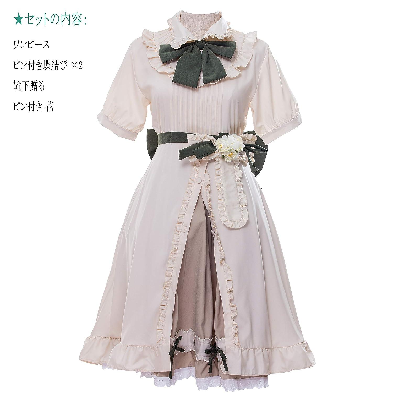cosplay lolita 学生服 メイド服 ロリータ ドレス ワンピース