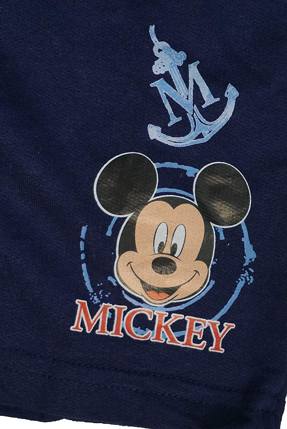 Boys Baby Disney Captain Mickey Mouse Nautical T-Shirt /& Shorts Set Sizes from 3 to 36 Months