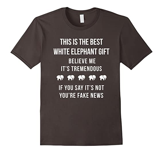 Amazoncom This Is The Best White Elephant Gift Exchange Shirt
