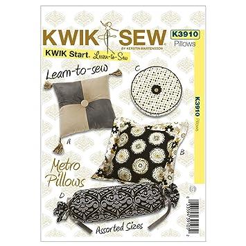 Kwik Sew Mustern K3910 Metro Kissen, weiß, 1 Stück: Amazon.de: Küche ...