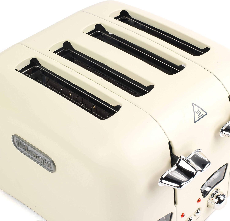 De'Longhi Classic Cream 4-Slice Toaster