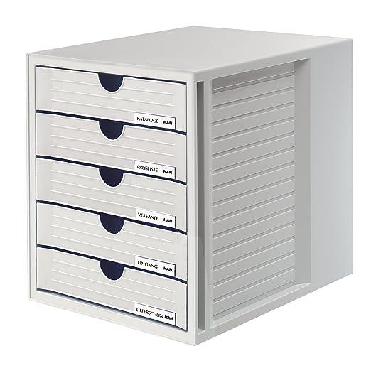 6 opinioni per Han 1450cassetti Box System Box, DIN A4e più grande, con 5cassetti chiusi