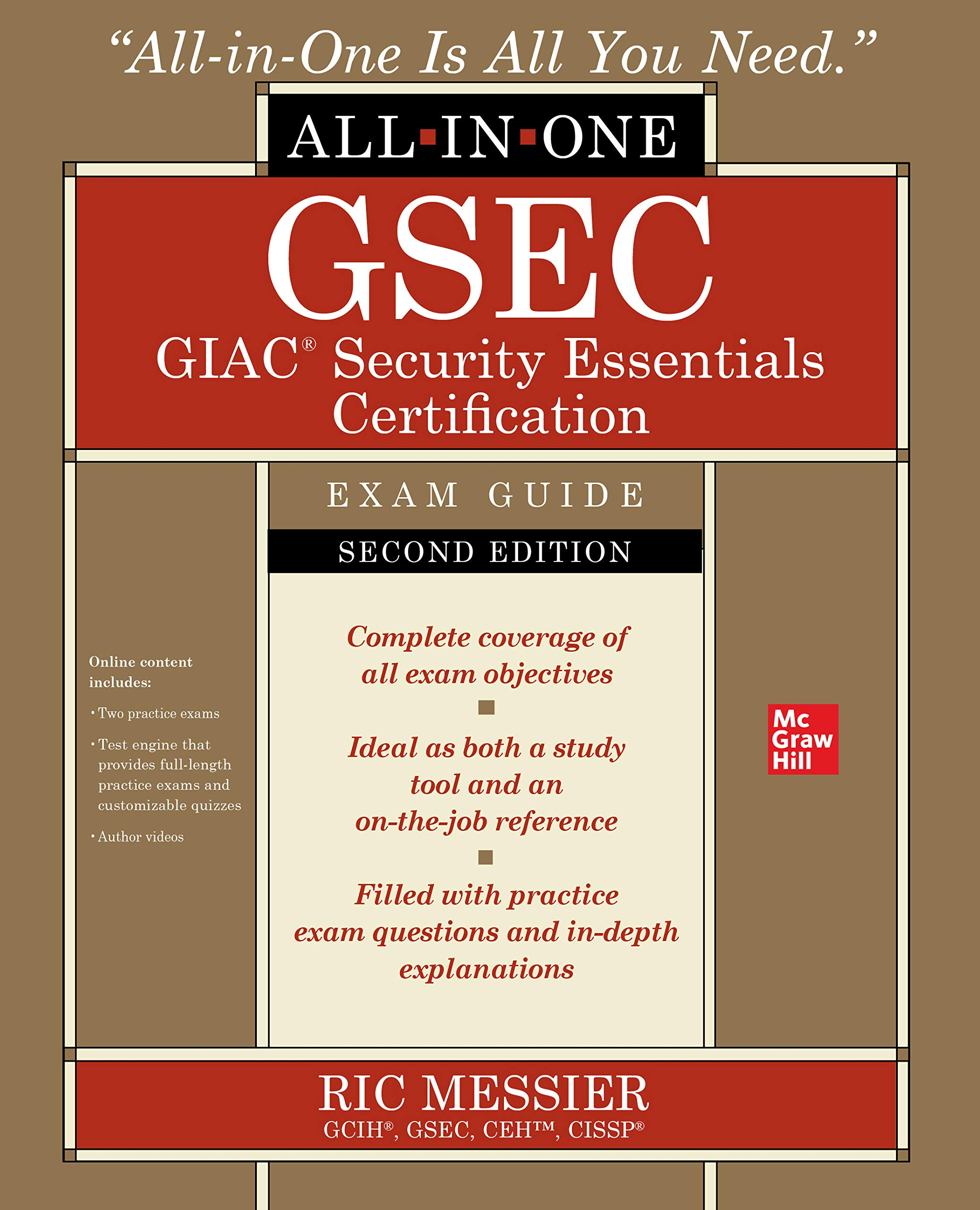 GSEC GIAC Security Essentials Certification All In One Exam Guide Second Edition  English Edition