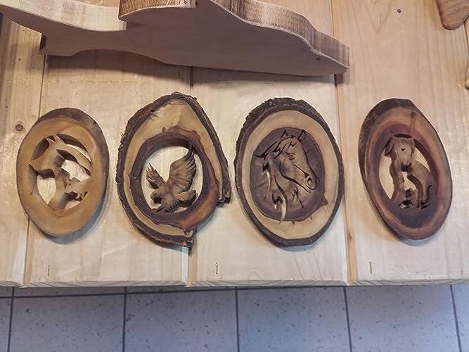 Quadri in legno con vari motivi. Una bellezza unica.: Amazon.it ...