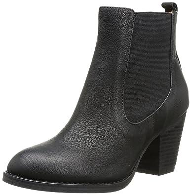 Stiefeletten Damen Schuhe TOP Wildleder Boots Used 0964 Schwarz 36