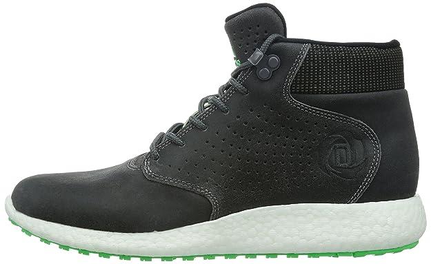 e7725ec99318 ADIDAS D ROSE LAKESHORE BOOST HI Mens Grey Green Trainers Shoes C77493 (UK 9    EUR 43 1 3 US 9.5)  Amazon.co.uk  Shoes   Bags