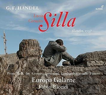 Europa Galante, Fabio Biondi, George Frideric Handel, Giacomo Rossi, __ - Lucio Cornelio : Silla - Amazon.com Music