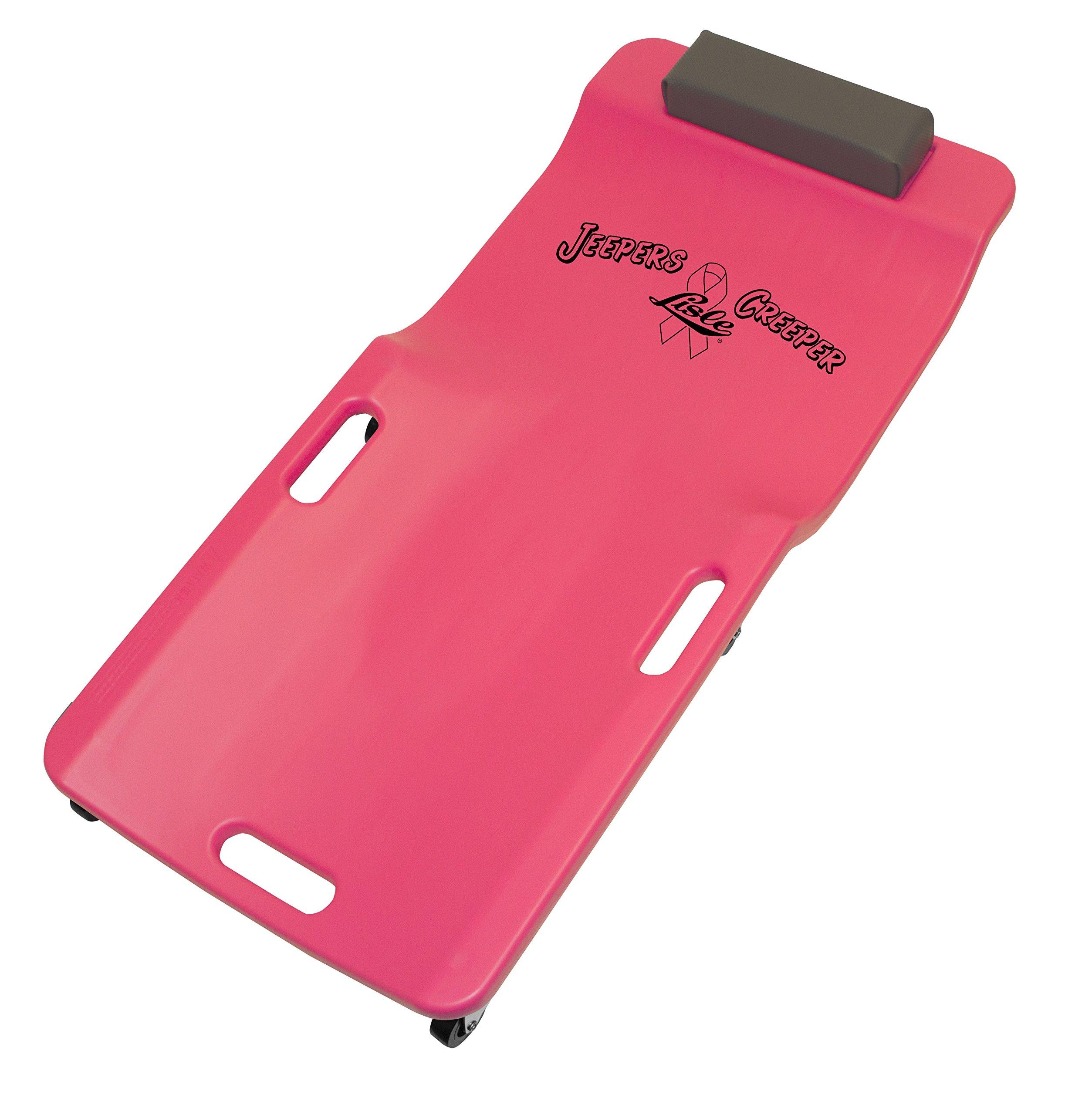 Lisle 93602 Pink Low Profile Plastic Creeper