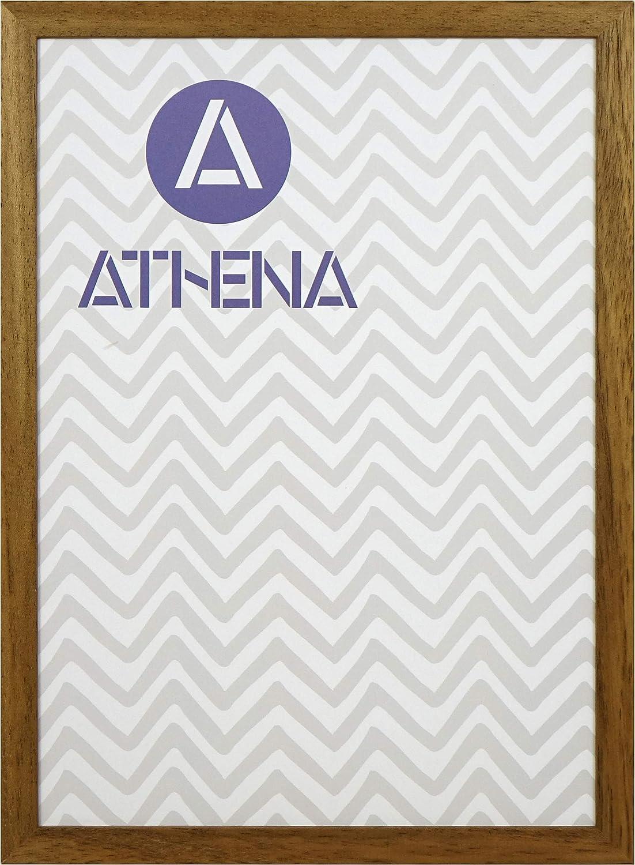 Athena Honey Oak Thin Premium Wood Picture Frame A4