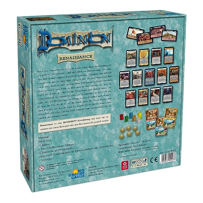Rio Grande Games 22501417 Dominion - Juego de Mesa (Contenido en ...