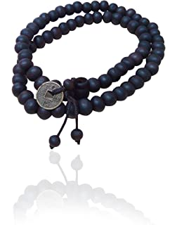 chandrika pearls gems u0026 jewellers black oxidized gold charm beads bracelet for men