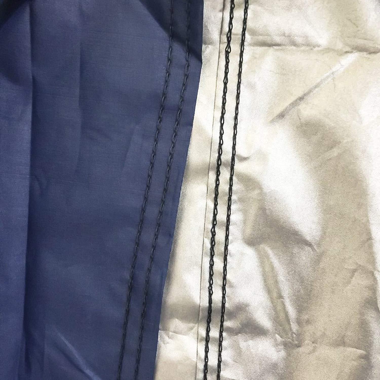 Protection ext/érieure et int/érieure Grande Housse Coupe-Vent et imperm/éable /à la poussi/ère 265x105x125cm GREADEN Housse de Moto imperm/éable Anti-UV Respirant en Plein air Anti poussi/ère /& Neige