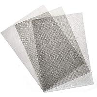 TIMESETL Draad gaas, 3-delige edelstraal draadgaas, vliegengaas, 30 x 21 cm, draadgaas, filternet, knaagdier met 1 mm…