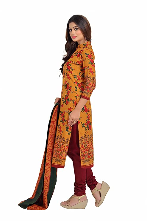 111120da8a Miraan Women's Dress Material (BAND1603_Multicolor_Free Size): Amazon.in:  Clothing & Accessories