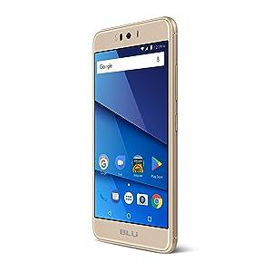 BLU R2-4G LTE Unlocked Smartphone - 16GB + 2GB RAM -Gold