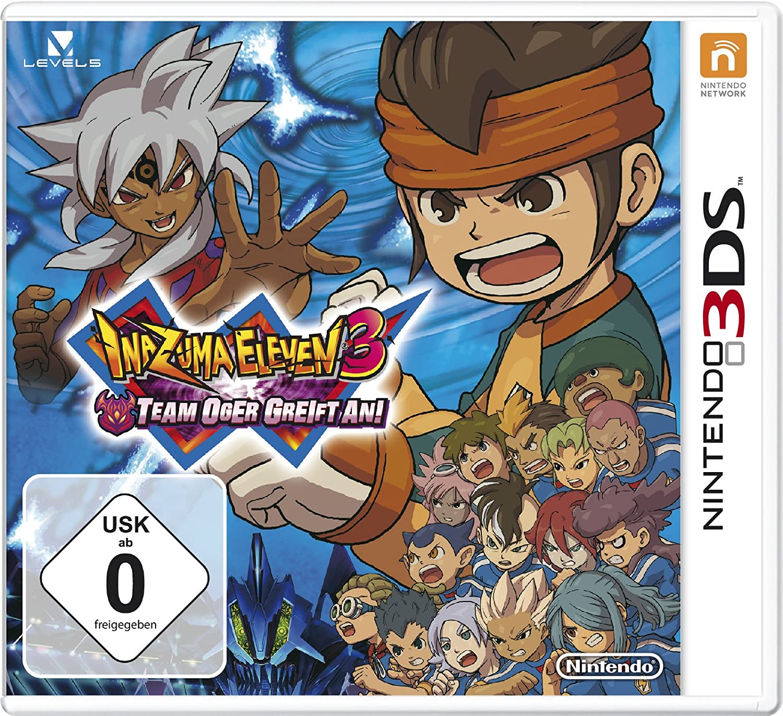 Inazuma Eleven 3 - Team Oger greift an!, 3DS