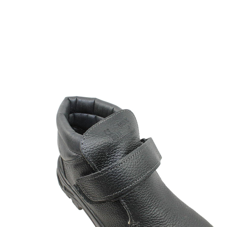 PSH - Calzado de protección de Piel para hombre negro negro, color negro, talla 45