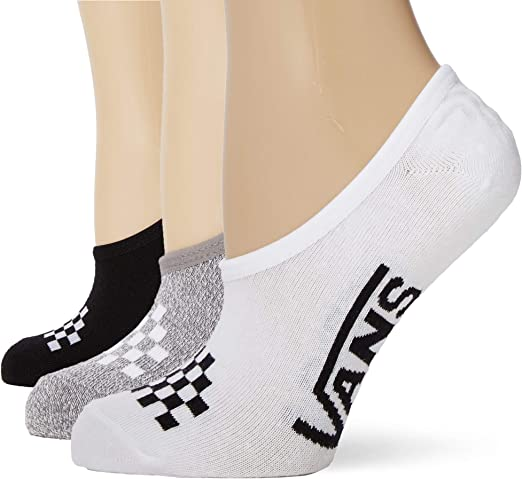 Vans Basic Assorted Canoodle 7-10 3pk Calcetines casual, Multicolor (Multi 448), Talla única para Mujer