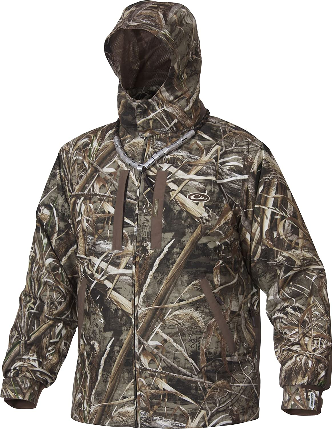 c707528129717 Amazon.com: Drake Men's EST Heat-Escape Waterproof Full Zip 2.0 Jacket  Polyester: Sports & Outdoors