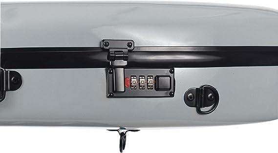 Estuche para violín fibra Safe Flight 4/4 Plata M-Case: Amazon.es: Instrumentos musicales