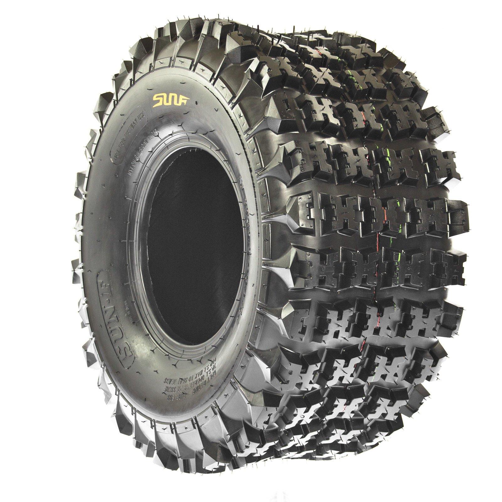 Set of 2 SunF A027 ATV Tire 22x11-9 Rear, 6 Ply by SunF (Image #5)