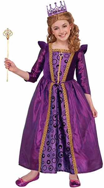 Forum Novelties Kids Vivian Violet Princess Costume, Purple, Large