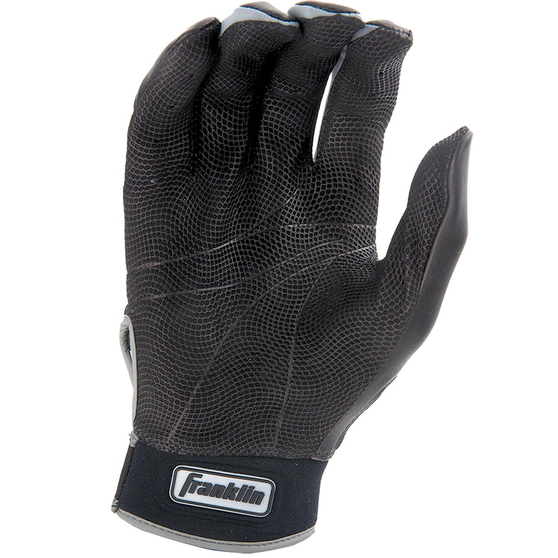 Black leather batting gloves - Amazon Com Franklin Sports Mlb Cfx Pro Batting Gloves Sports Outdoors