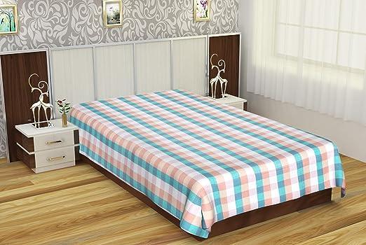 Elgandul 300 TC Cotton Single Bedsheet - Multi-Coloured