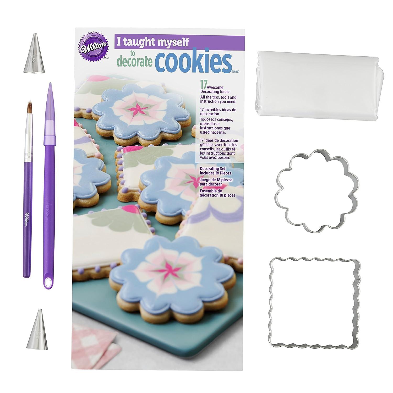 WiltonI Taught Myself To Decorate Cookies Cookie Decorating Book Set How To Decorate Cookies 2104-7553