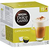 Nescafé Dolce Gusto Kaffeekapseln Cappuccino Vorratsbox, 30 Kapseln, 375 g