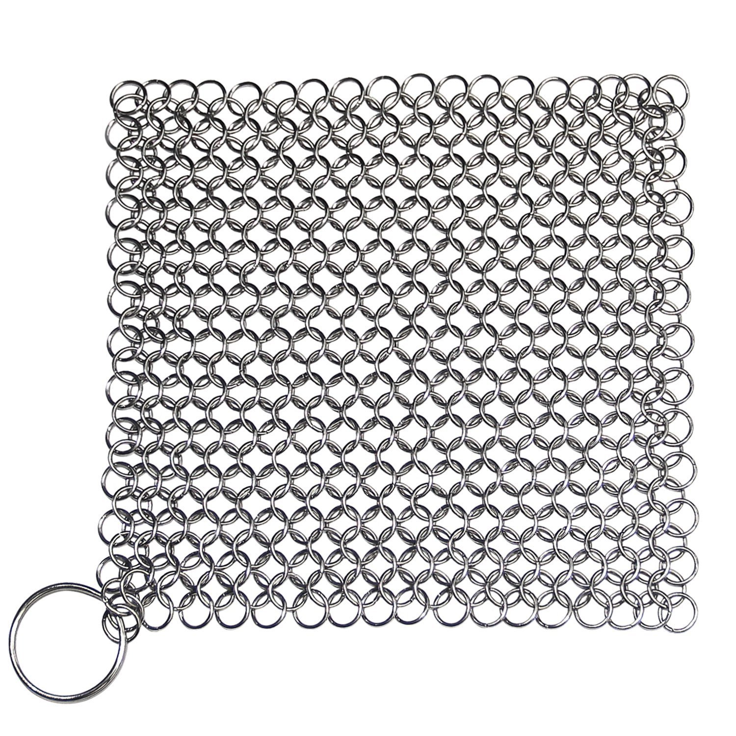 Iron Cleaner 7x7 Inch Stainless Steel Cookware Cleaner (Square)