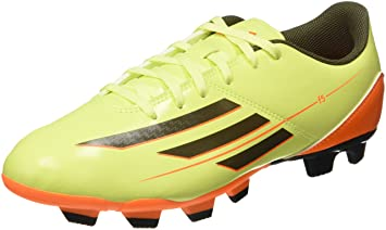 new style ecb9f e4553 Adidas F5 TRX FG - Botas de fútbol para hombre lime   orange Talla 7