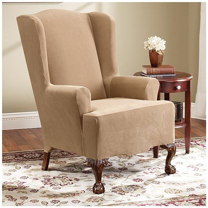 Seguro de ajuste elástico Pearson ala silla funda protectora ...