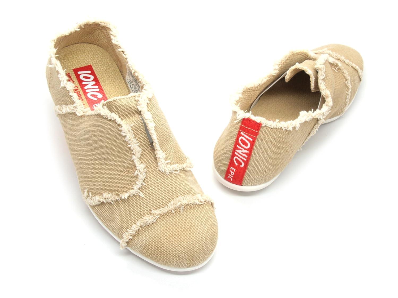 IONIC EPIC simply FABRIC footwear Women's Sando B00IK0JBOI 5 B(M) US|Tan
