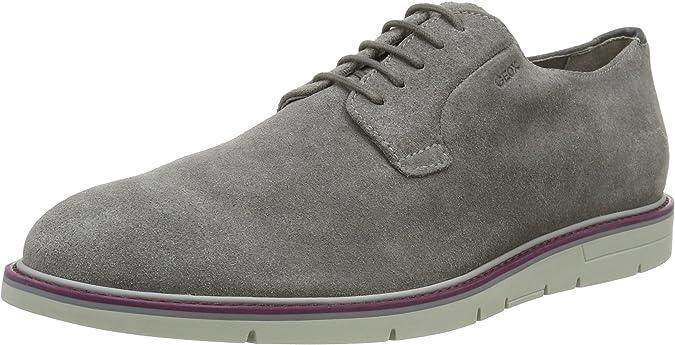 Geox U Uvet B, Zapatos de Cordones Derby para Hombre