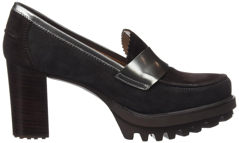 29450, Mocassins (Loafers) Femme, Gris (Piombo), 38 EUPedro Miralles