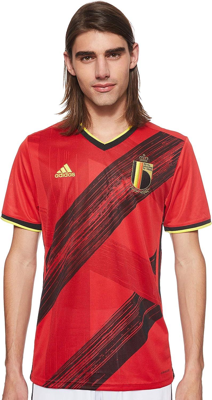 adidas Belgium Home Mens Soccer Jersey- 2020
