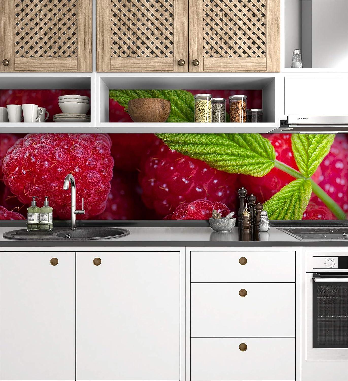 Küchenrückwand Folie selbstklebend Tropic Klebefolie Dekofolie