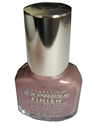Amazon Com Maybelline Express Finish Nail Polish Pink Topaz 100