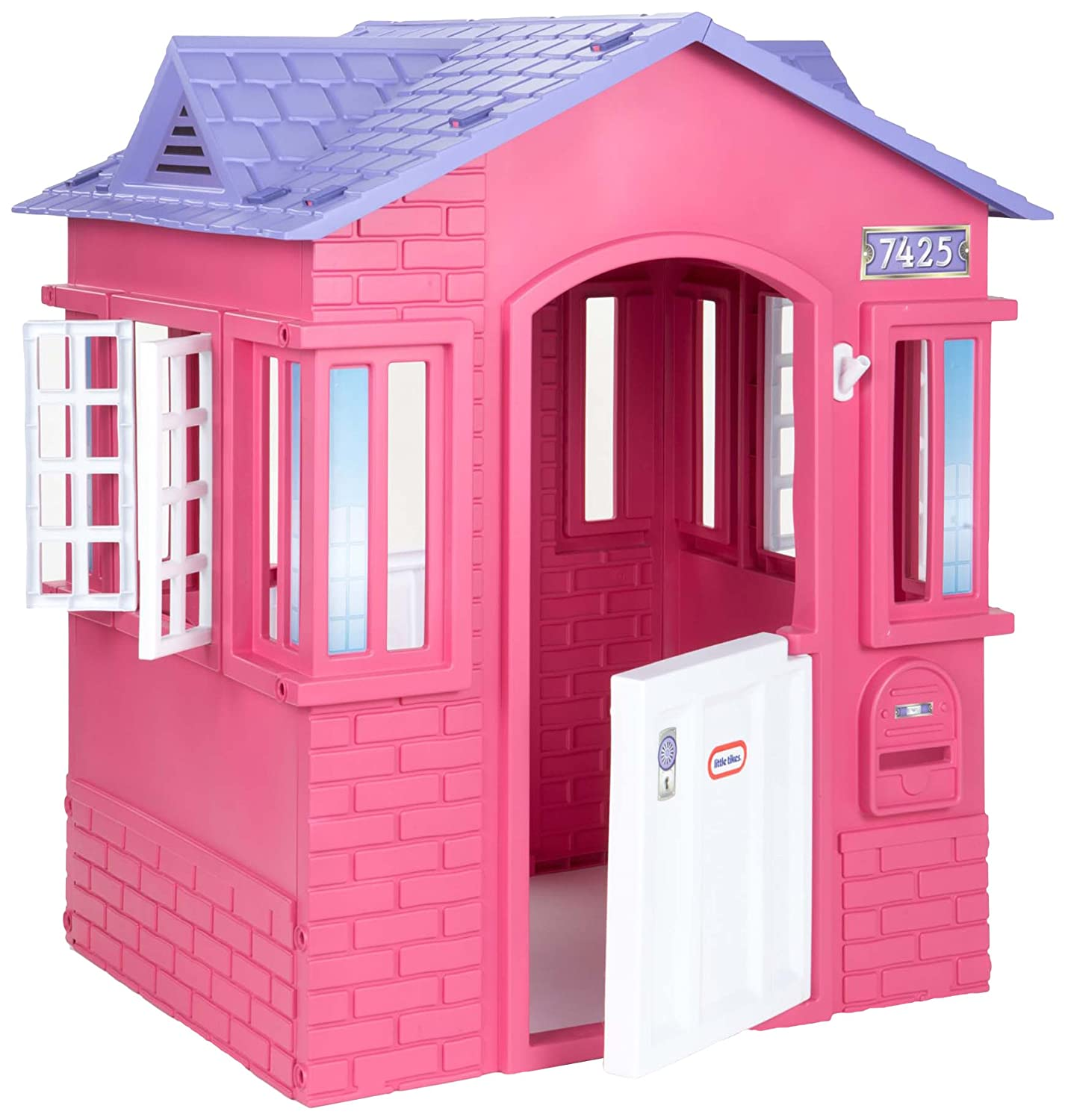 Amazon Little Tikes Princess Cape Cottage Playhouse Pink