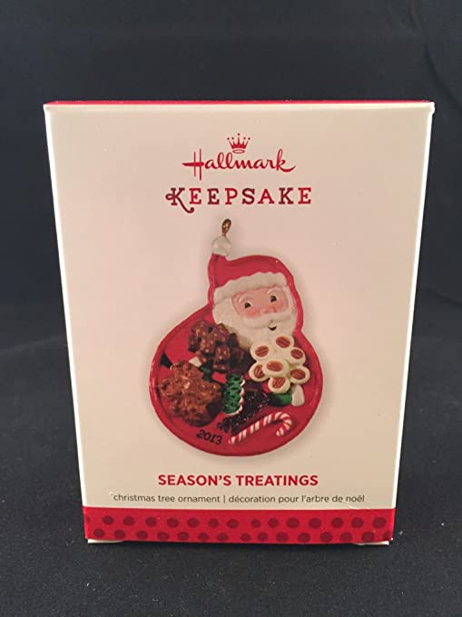 2018 Hallmark Keepsake Season/'s Treatings Ornament  FAST SHIP